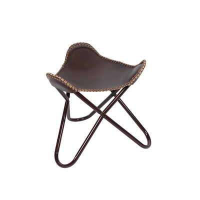 Butterfly Stool Color: Brown
