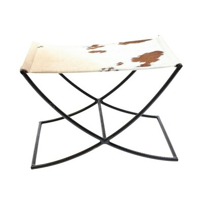 Hide Sled Stool Color: Brown