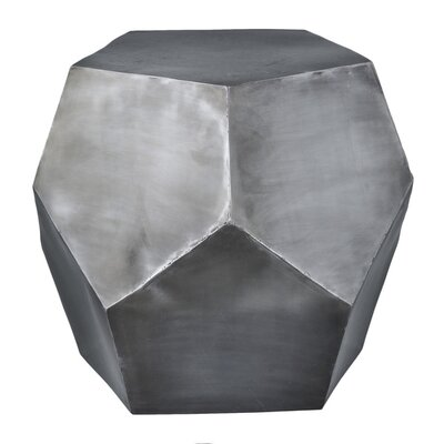 Diamond Decor Stool Color: Zinc Antique