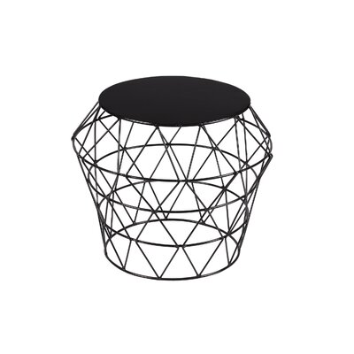 Meet Drum Stool Color: Black