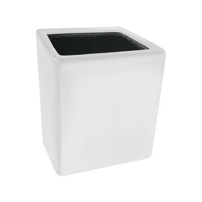 Urban Gardening Ceramic Wall Planter Size: Large, Color: Glossy White