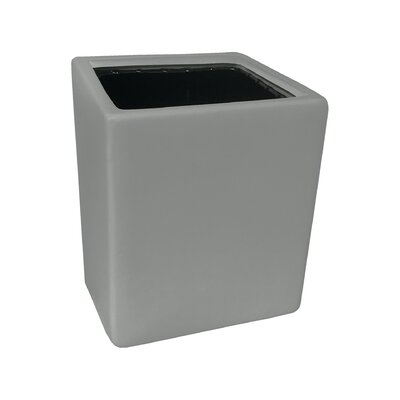 Urban Gardening Ceramic Wall Planter Size: Large, Color: Matte Light Grey