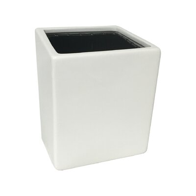 Urban Gardening Ceramic Wall Planter Size: Small, Color: Matte White