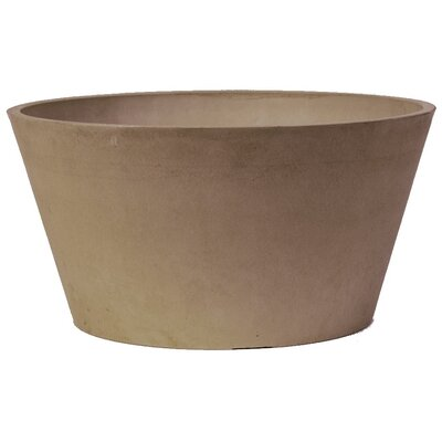 PSW Plastic Pot Planter Color: Taupe