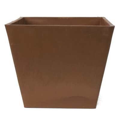 PSW Composite Pot Planter Color: Chocolate
