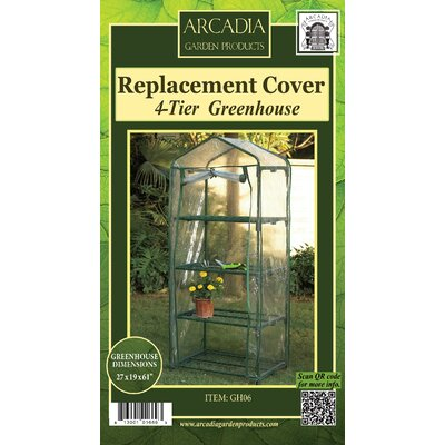 Mini Greenhouse Replacement Cover Size: 4-Tier
