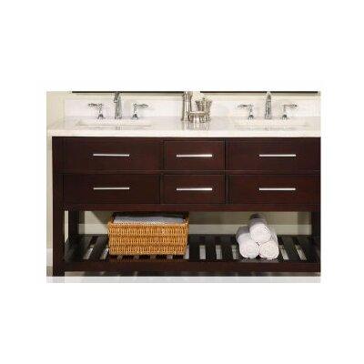 """Priva 60"""" Double Bathroom Vanity"""