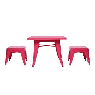 babyletto Lemonade 3 Piece Table & Stool Set
