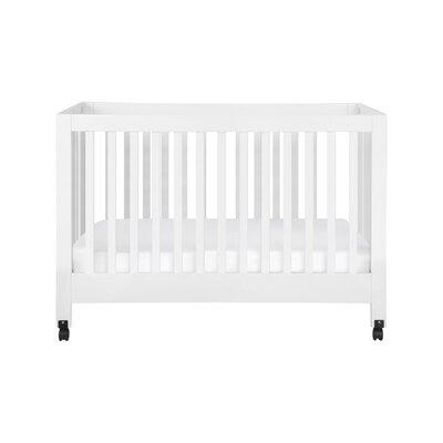 Maki Full Folding Crib Color: White