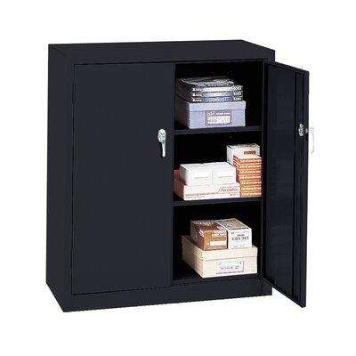 Budget Series 2 Door Storage Cabinet Color: Black