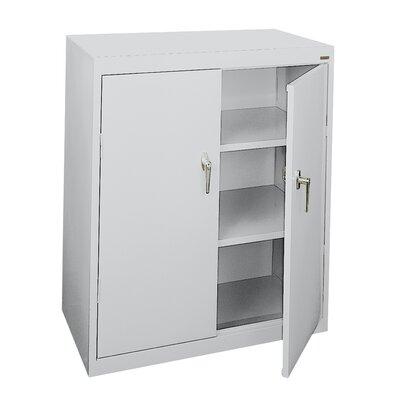 Budget Series 2 Door Storage Cabinet Color: Gray