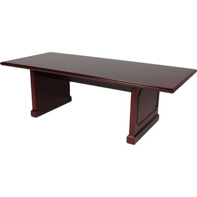 Hamlet Rectangular Conference Table Size: 8' L