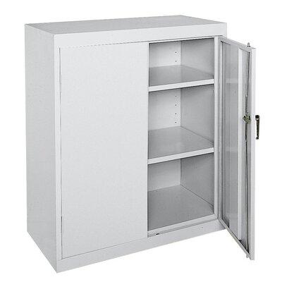 Deluxe 2 Door Storage Cabinet Color: Gray