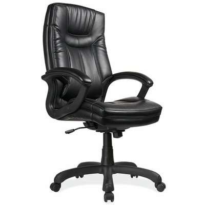 OfficeSource Mid-Back Leather Executive Chair