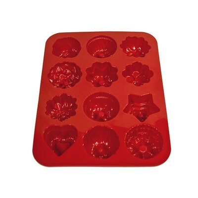 Flowers Non Stick Silicone Cake, Chocolate and Jelly Candy Baking Mold