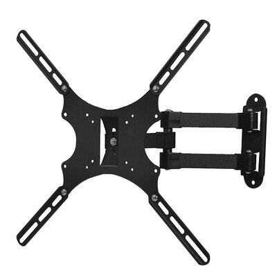 "Tilt and Swivel Articulating TV Wall Mount Bracket for 19""-46"" Flat Panel Screens"