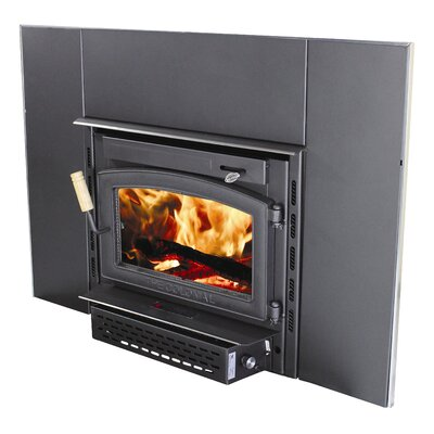 Colonial Wood Burning Fireplace Insert
