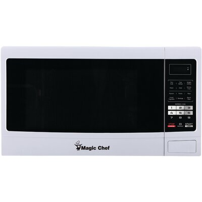 "22"" 1.6 cu.ft. Countertop Microwave Finish: White"