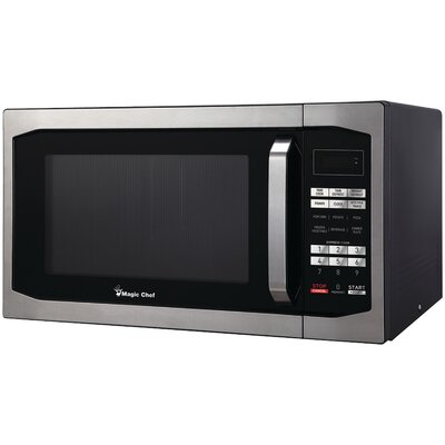 "22"" 1.6 cu.ft. Countertop Microwave Finish: Stainless Steel"