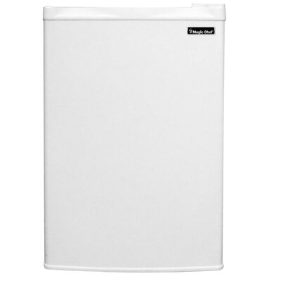 3.0 Cu Ft Upright Freezer Finish: White