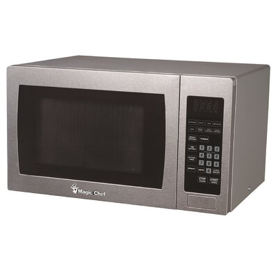 "19.1"" 0.9 Cu Ft 900 Watt Digital Touch Countertop Microwave"