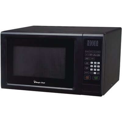"20"" 1.1 cu.ft. Countertop Microwave Color: Black"