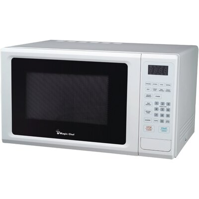 """20"""" 1.1 cu.ft. Countertop Microwave Color: White"""