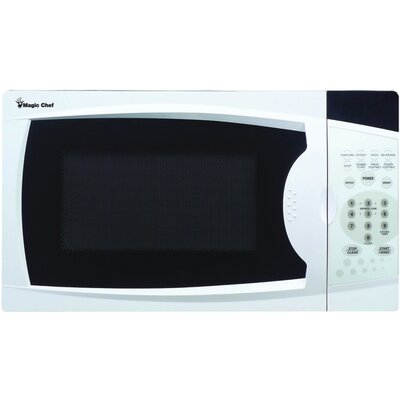"17"" 0.7 cu.ft. Countertop Microwave Color: White"