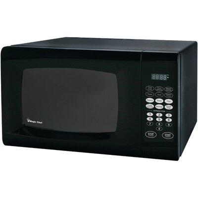 "19"" 0.9 cu.ft. Countertop Microwave Color: Black"