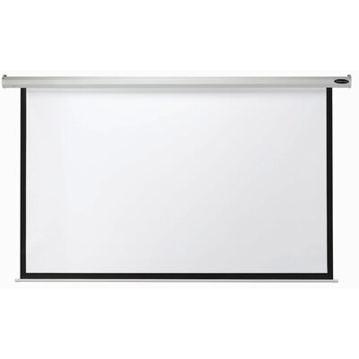 "Matte White Manual Projection Screen Viewing Area: 60"" H x 60"" W"