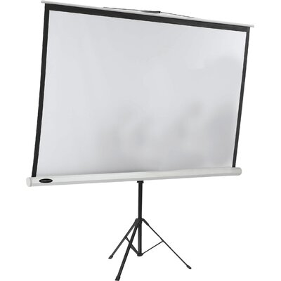 AARCO Matte White Portable Projection Screen
