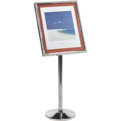 Single Pedestal Broadcaster Color: Chrome