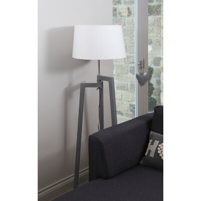 Pacific Lifestyle Tripod Floor Lamp Base in Grey