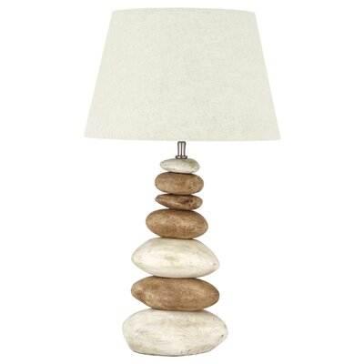 Pacific Lifestyle Linen Tapered Cylinder Shade in Off White