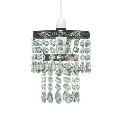 Pacific Lifestyle 1 Light Crystal Chandelier