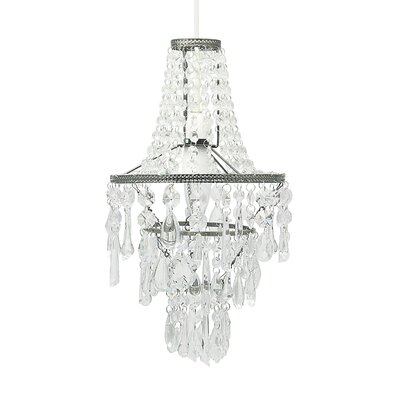 Pacific Lifestyle Shimmer 1 Light Crystal Chandelier
