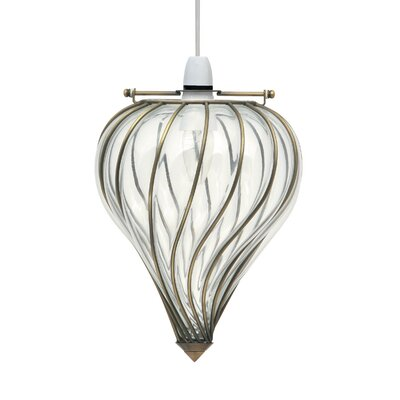 Pacific Lifestyle 22cm Glass Novelty Pendant Shade
