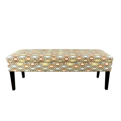 Coll Vera Upholstered Bench Color: Harvest