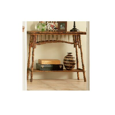 Coastal Chic Console Table Color: Antique Tortoise