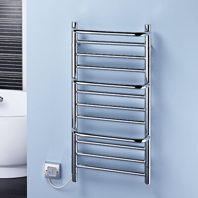Dimplex Compact Stepped Wall Mounted Electric Heated Towel Rail