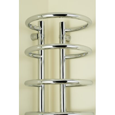 Dimplex Compact Corner Wall Mounted Electric Heated Towel Rail