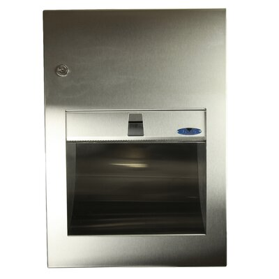 Surface Mounted Stainless Steel Paper Towel Dispenser
