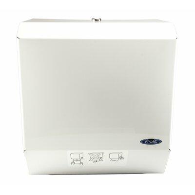 Auto Cut Paper Towel Dispenser Color: White Epoxy Powder