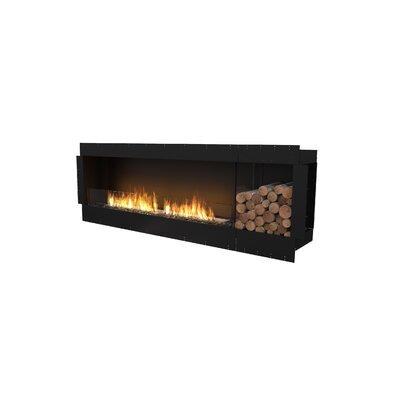 FLEX86 Single Sided Wall Mounted Bio-Ethanol Fireplace Insert