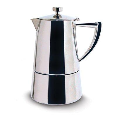 Roma Espresso Coffee Maker Size: 10 cup