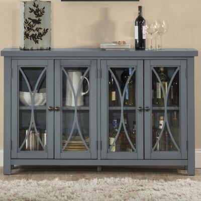 Sierra Madre 4 Door Accent Cabinet Color: Blue