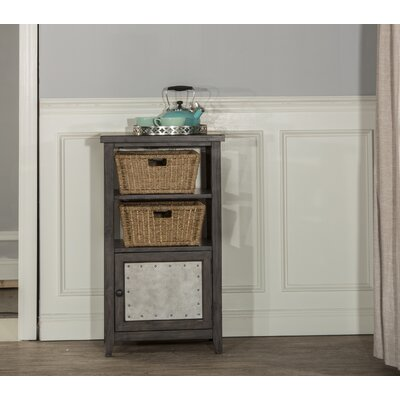Sceinnker Rustic Wood Accent Cabinet Color: Smoke