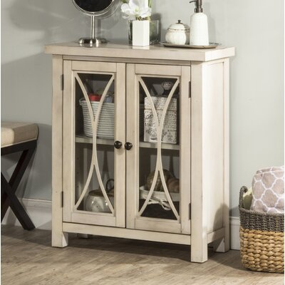 Sierra Madre 2 Door Accent Cabinet Color: White