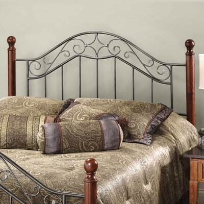 Hillsdale Martino Wood And Metal Headboard Amp Reviews Wayfair