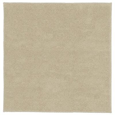 "Roanoke Cotton Area Rug Size: 36""x36"", Color: Natural"